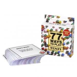 77 ways to play tenzi fast play board game