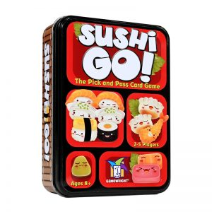 Coiledspring Games - Sushi Go! - Box