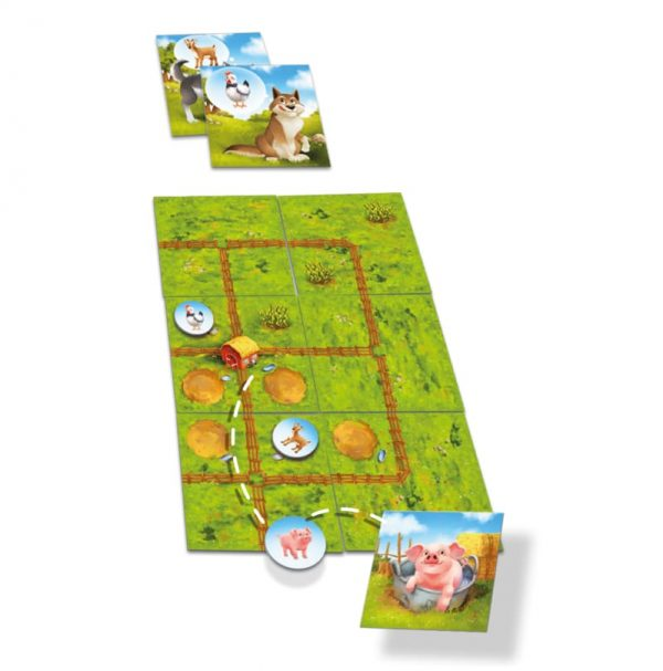 Farmini Components Childrens Board Game