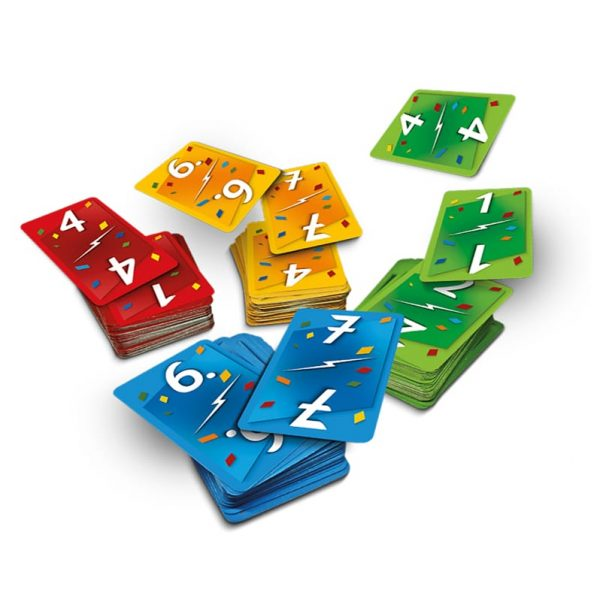 Ligretto components fast play board game