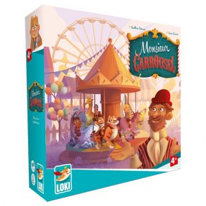Monsieur Carrousel Childrens Board Game
