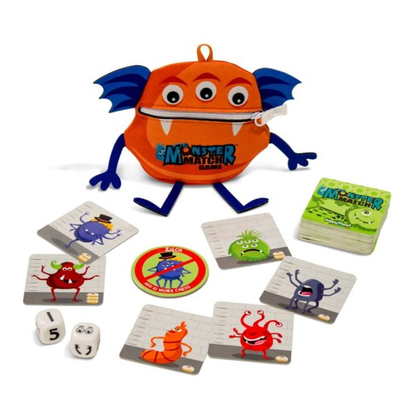 Monster match components fast play board game