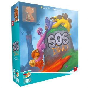 SOS Dino Childrens Board Game