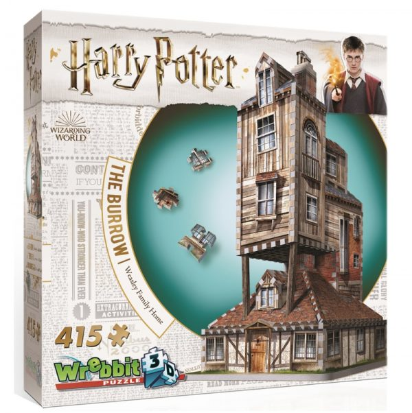 Wrebbit 3D The Burrows Weasley Family Home Puzzle