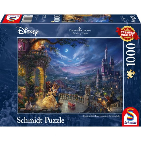 Schmidt Thomas Kinkade Beauty and the Beast Jigsaw