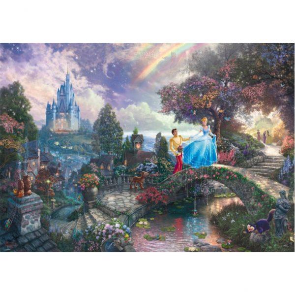 Schmidt Thomas Kinkade Disney Cinderella Jigsaw