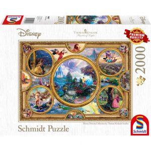 Schmidt Thomas Kinkade Disney Dreams Collection Jigsaw