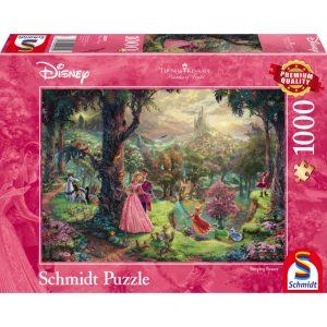 Schmidt Thomas Kinkade Disney Sleeping Beauty Jigsaw