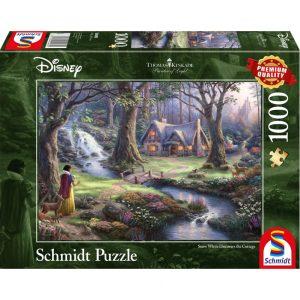 Schmidt Thomas Kinkade Disney Snow White Jigsaw