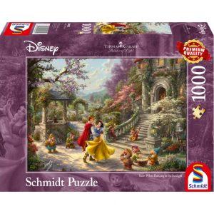 Schmidt Thomas Kinkade Disney Snow White Dancing with the Prince Jigsaw