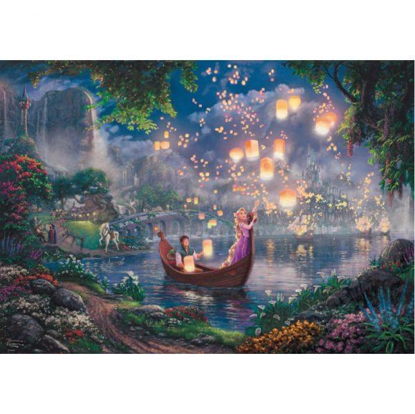 Schmidt Thomas Kinkade Disney Tangled Jigsaw