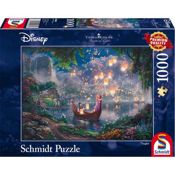 Schmidt Thomas Kinkade Disney Tanged Jigsaw