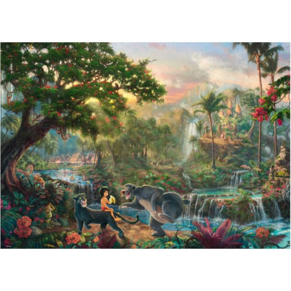 Schmidt Thomas Kinkade Disney The Jungle Book Jigsaw