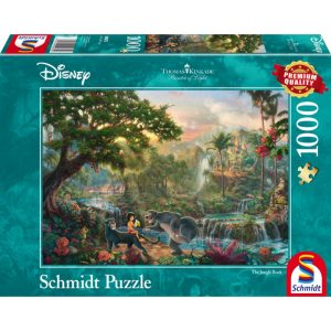 Schmidt Thomas Kinkade Disney The Jungle Book Jigsaw