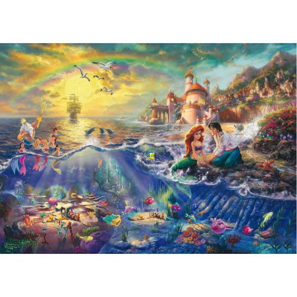 Schmidt Thomas Kinkade Disney The Little Mermaid Jigsaw