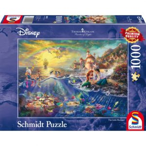 Schmidt Thomas Kinkade Disney The Little Mermaid Jigsaw