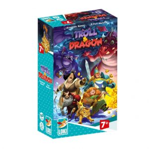 Troll and Dragon Childrens Board Game