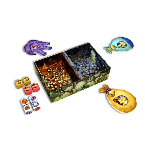 Troll and Dragon Components Childrens Board Game