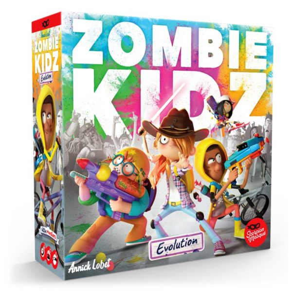 Zombie Kidz Evolution Childrens Board Game