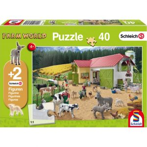 Schmidt Schleich A Day at the Farm Children's Jigsaw