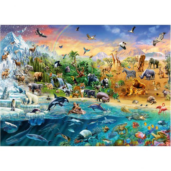 Schmidt Animal Kingdom Jigsaw