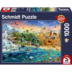 Schmidt Animal Kingdom Jigsaw