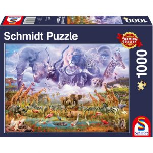 Schmidt Animals at the Watering Hole Jigsaw