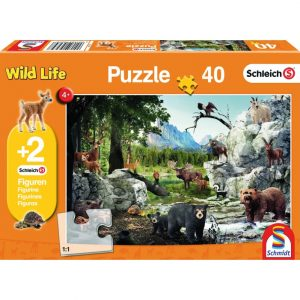 Schmidt Schleich The Animals of the Forest Children's Jigsaw