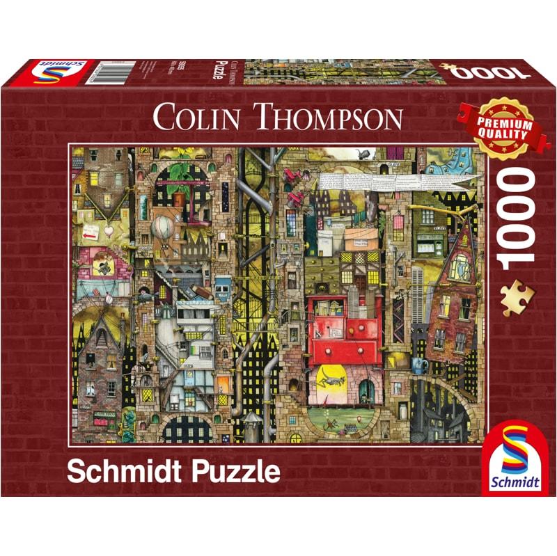 1000 pieces Schmidt Jigsaw Noah/'s Ark by Colin Thompson