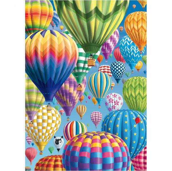 Schmidt Colourful Balloons in the Sky Jigsaw