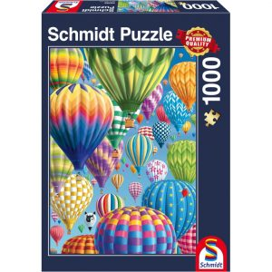 Schmidt Colourful Balloons in the Sky Jigsaw