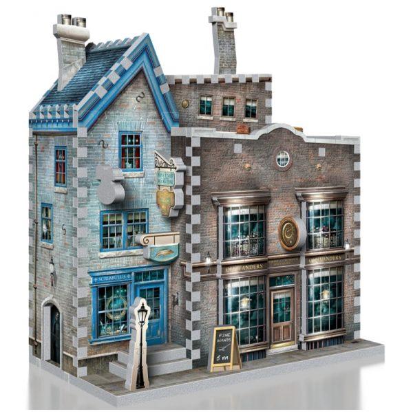 Wrebbit 3D Diagon Alley Collection Ollivanders & Scribbulus Puzzle