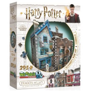 Wrebbit 3D Diagon Alley Collection Ollivanders & Scribbulus Puzzle