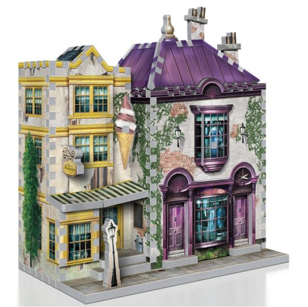 Wrebbit 3D Diagon Alley Collection Madam Malkins & Florean Fortescues Puzzle