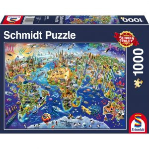 Schmidt Discover the World Jigsaw
