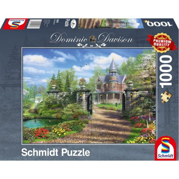 Schmidt Dominic Davison Idyllic Country Estate Jigsaw