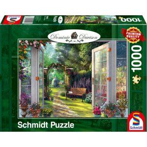 Schmidt Dominic Davison View of the Enchanted Gardens Jigsaw