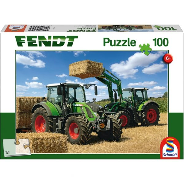 Schmidt Fendt 724 Vario 716 Vario with Cargo Children's Jigsaw