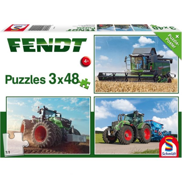 Schmidt Fendt 1050 Vario 724 Vario 6275L Children's Jigsaw
