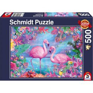 Schmidt Flamingos Jigsaw
