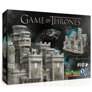 Wrebbit 3D Game of Thrones Winterfell Puzzle