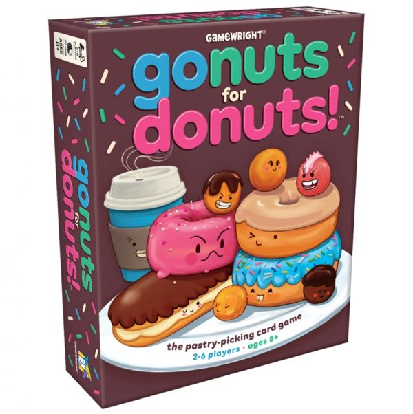 Go Nuts For Donuts Card Game