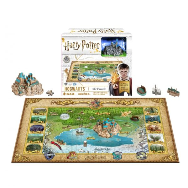 4D Cityscape Harry Potter Mini Hogwarts Puzzle