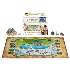 4D Cityscape Harry Potter Wizarding World Puzzle