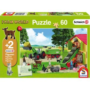 Schmidt Schleich Hay Harvest on the Farm Children's Jigsaw