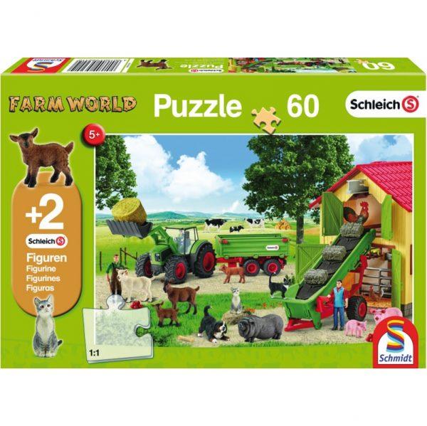 Schmidt Schleich Hay Harvest on the Farm Children's Jigsaw