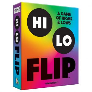 Hi Lo Flip Family Board Game