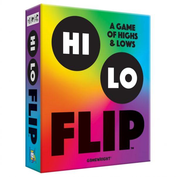 Hi Lo Flip Family Board Game