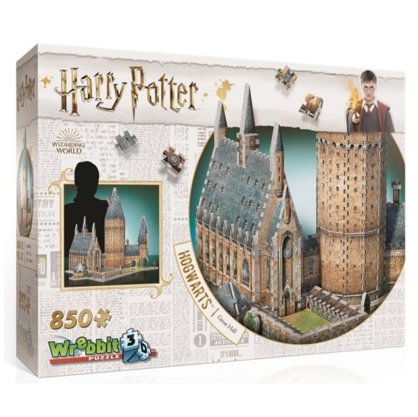 Wrebbit 3D Harry Potter Hogwarts Great Hall Puzzle