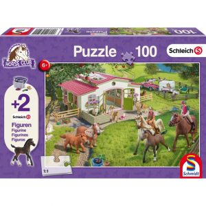 Schmidt Schleich Horse Ride into the Countryside Children's Jigsaw